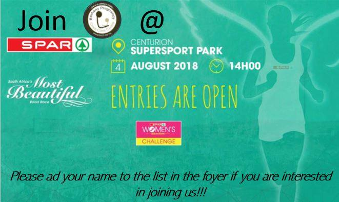 Spar Ladies Walk 2018